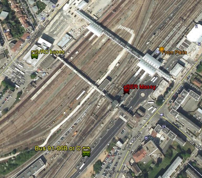 Massy RER station